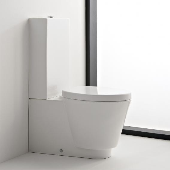 Scarabeo Wish Monoblock Stand-Tiefspül-WC für Kombination weiß