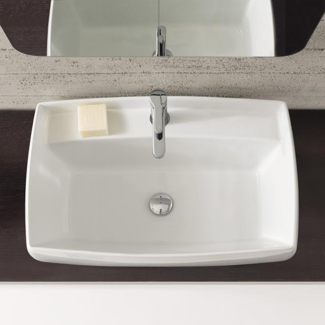 Scarabeo Arco Einbauwaschbecken weiß