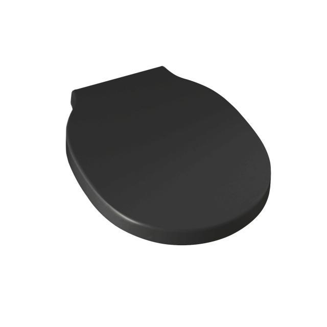 Scarabeo Bucket WC-Sitz, abnehmbar schwarz matt, mit Absenkautomatik