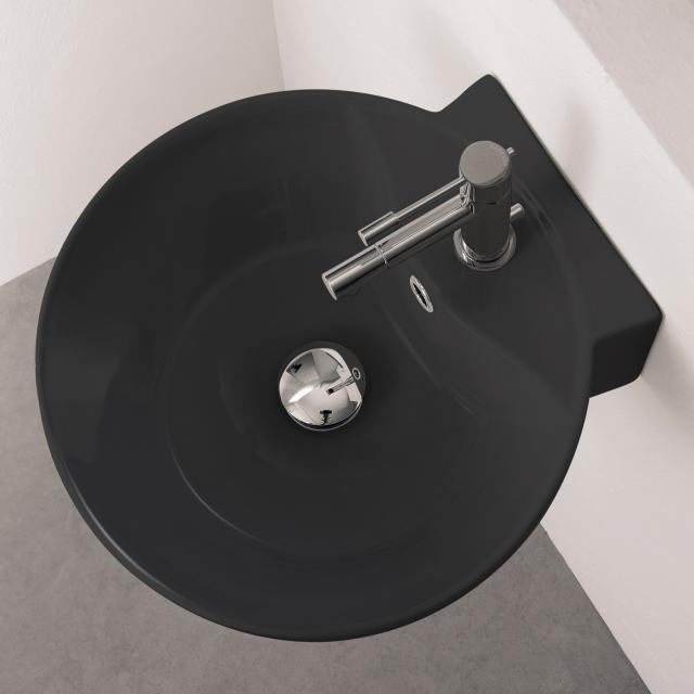 Scarabeo Sfera R Aufsatz- oder Hängewaschbecken schwarz