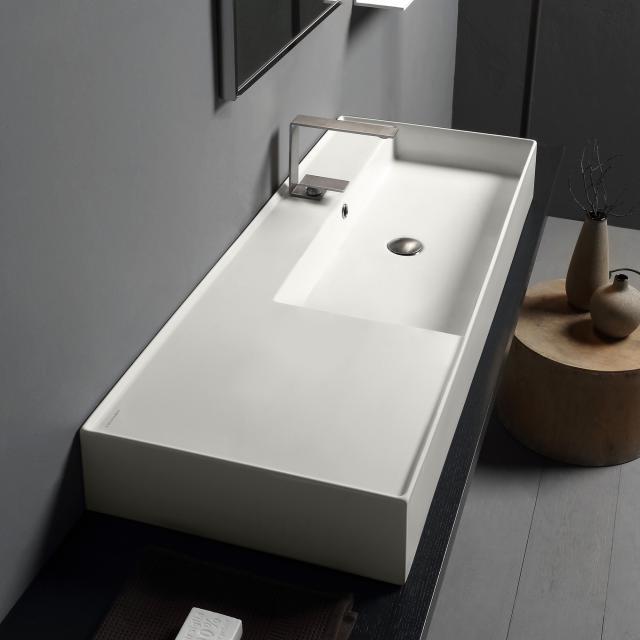 Scarabeo Teorema 2.0 Aufsatz- oder Hängewaschbecken weiß matt