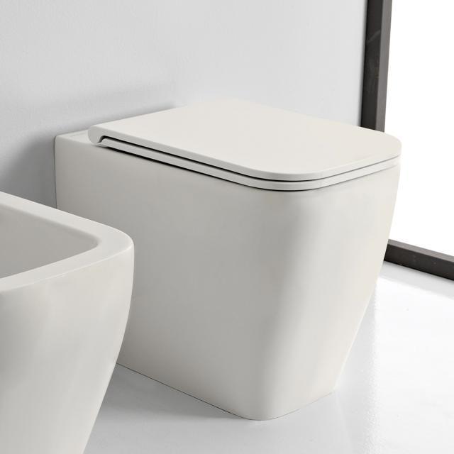 Scarabeo Teorema 2.0 Stand-Tiefspül-WC weiß matt, mit BIO System Beschichtung