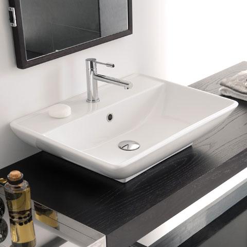 Waschbecken eckig mit unterschrank  Doppelwaschtisch Aufsatzwaschbecken | gispatcher.com
