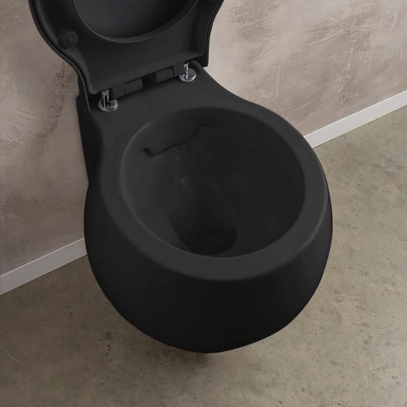 scarabeo planet wand tiefsp l wc ohne sp lrand schwarz 8105cl35 reuter. Black Bedroom Furniture Sets. Home Design Ideas