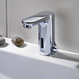 Schell CELIS E Elektronische Waschtischarmatur mit Temperaturregler mit Steckernetzteil