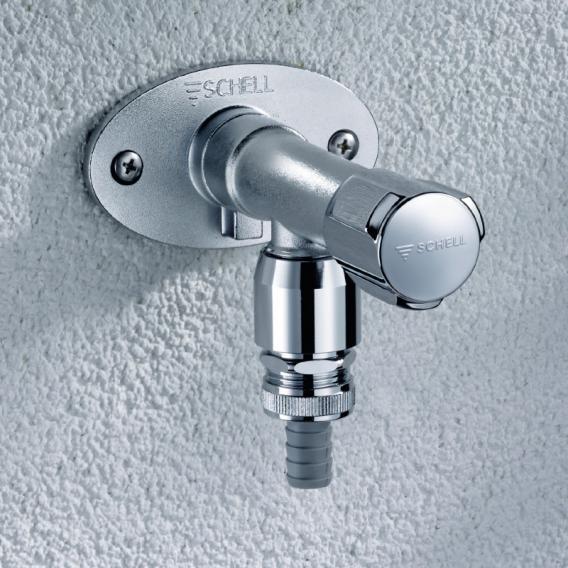 Schell frostsichere Außenwandarmatur POLAR II Set, Mauerwerk: 200-500 mm, DVGW zertifiziert