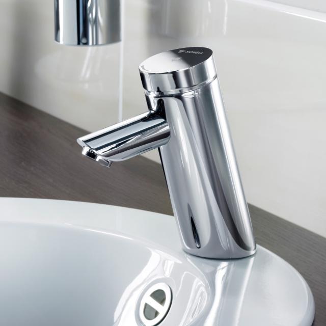 Schell PURIS E Elektronische Waschtischarmatur für Kaltwasser Ausladung: 140 mm, mit Batterie