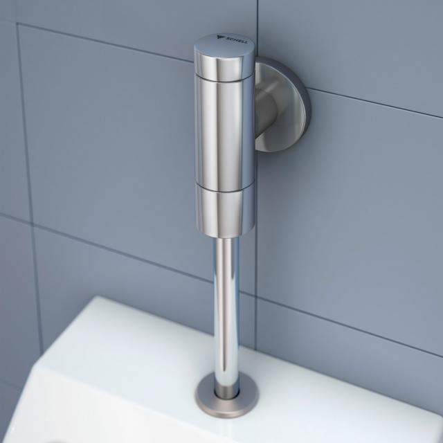 Schell Urinal-Spülarmatur SCHELLOMAT BASIC SV mit Serviceabsperrventil