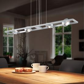 Herbert Schmidt Switch LED Pendelleuchte 8-flammig