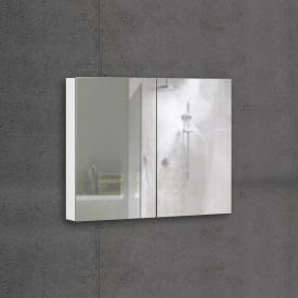 Schneider ADVANCEDLINE Comfort Spiegelschrank mit LED-Innenbeleuchtung mit 2 Türen weiß