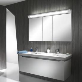 Schneider CAPELINE Spiegelschrank B: 130 H: 80 T: 15 cm, 3 Türen