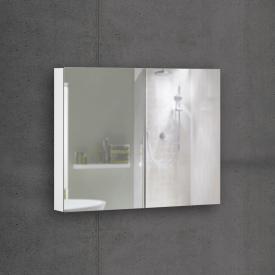 Schneider EASYLINE Comfort Spiegelschrank mit 2 Türen Steckdose links und rechts