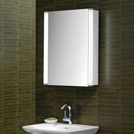 Schneider ELUALINE Spiegelschrank mit 1 Tür silber eloxiert
