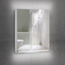 Schneider GRACELINE Spiegelschrank mit 1 Tür silber eloxiert