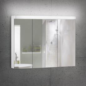 Schneider LOWLINE Basic Spiegelschrank mit 3 Türen neutralweiß