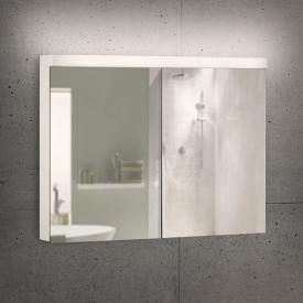 Schneider LOWLINE Basic Spiegelschrank mit 2 Türen warmweiß
