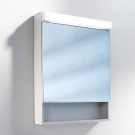 Schneider LOWLINE FL Spiegelschrank mit Beleuchtung, mit 1 Tür, mit offenem Fach