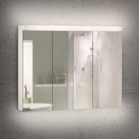 Schneider LOWLINE Plus Spiegelschrank mit 3 Türen warmweiß