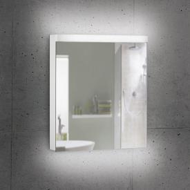 Schneider LOWLINE Plus Spiegelschrank mit 1 Tür neutralweiß, mit Steckdose rechts