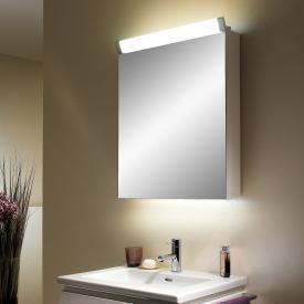Schneider PALILINE Spiegelschrank, mit 1 Tür, mit Beleuchtung silber eloxiert