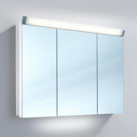 Schneider PALILINE Spiegelschrank mit 3 Türen, mit Beleuchtung weiß