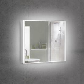 Schneider PREMIUMLINE Superior Spiegelschrank mit LED-Beleuchtung mit 2 Türen Steckdose links und rechts