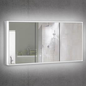 Schneider PREMIUMLINE Ultimate Spiegelschrank mit LED-Beleuchtung mit 3 gleichgroßen Türen