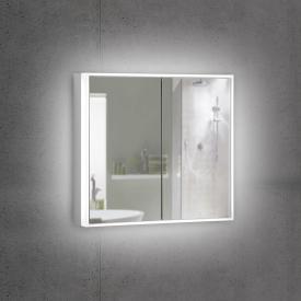 Schneider PREMIUMLINE Ultimate Spiegelschrank mit LED-Beleuchtung mit 2 Türen Steckdose links