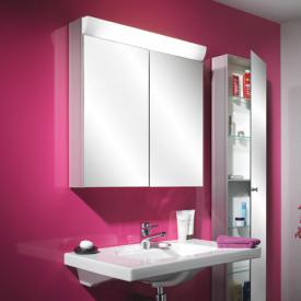 Schneider WANGALINE Spiegelschrank mit 2 Türen silber eloxiert