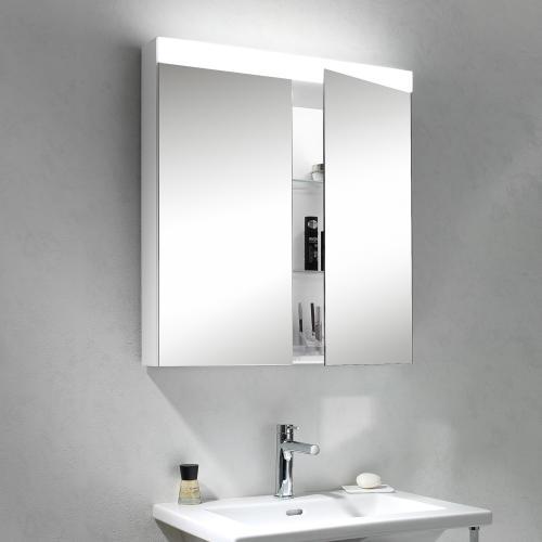 Schneider pataline spiegelschrank b 80 h 70 t 12 cm mit 2 t ren reuter - Spiegelschrank 12 cm tief ...