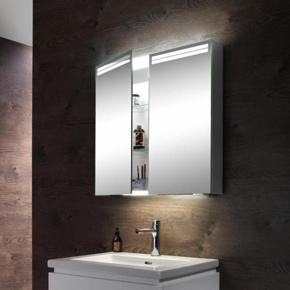 Schneider ARANGALINE Spiegelschrank, mit 2 Türen 4000 Kelvin
