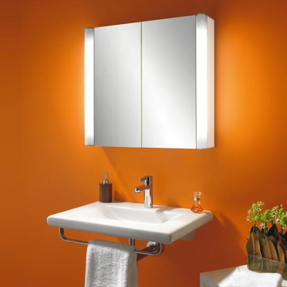 Schneider MOANALINE Spiegelschrank mit 2 Türen, Beleuchtung außen