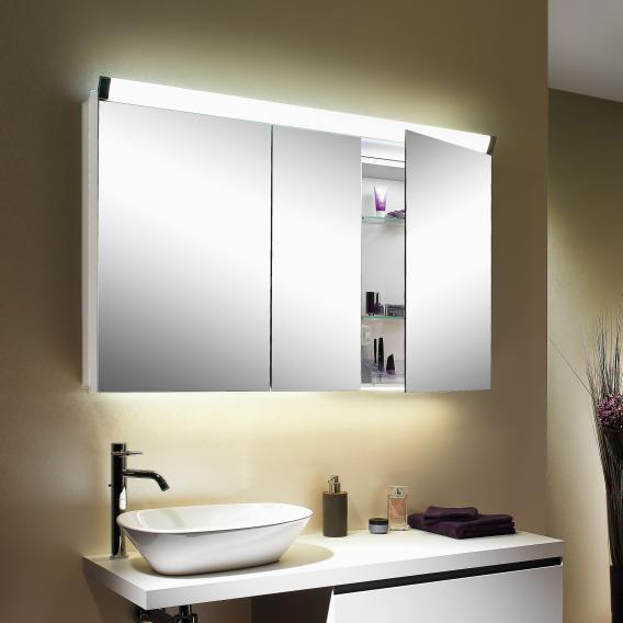 Schneider PALILINE Spiegelschrank mit 3 Türen weiß