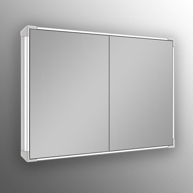 Schneider A-LINE Spiegelschrank mit LED-Beleuchtung Steckdosen mittig