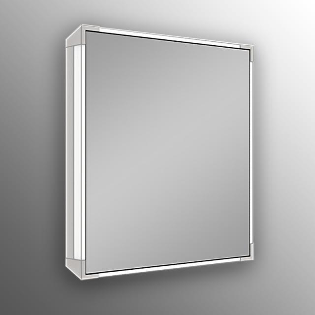 Schneider A-LINE Spiegelschrank mit LED-Beleuchtung Steckdose links