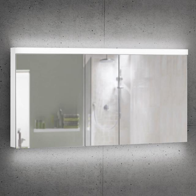 Schneider DAILYLINE Ultimate Spiegelschrank mit LED-Beleuchtung mit 3 Türen