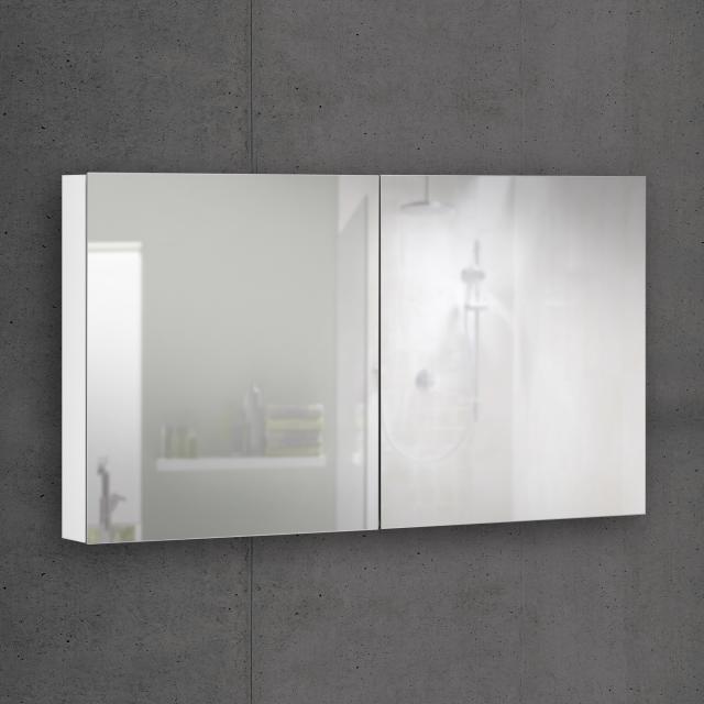 Schneider EASYLINE Comfort Spiegelschrank mit 2 Türen Steckdose mittig