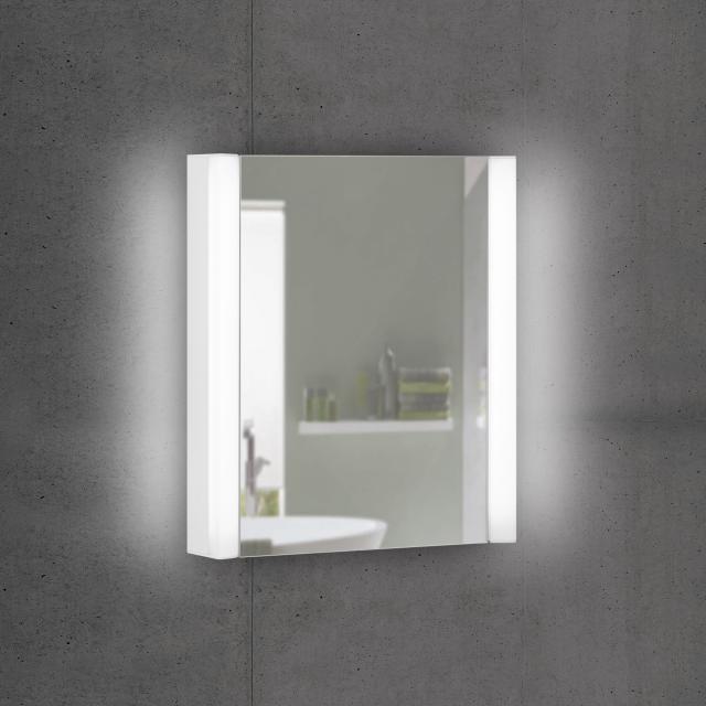 Schneider EASYLINE Superior Spiegelschrank mit LED-Beleuchtung mit 1 Tür neutralweiß