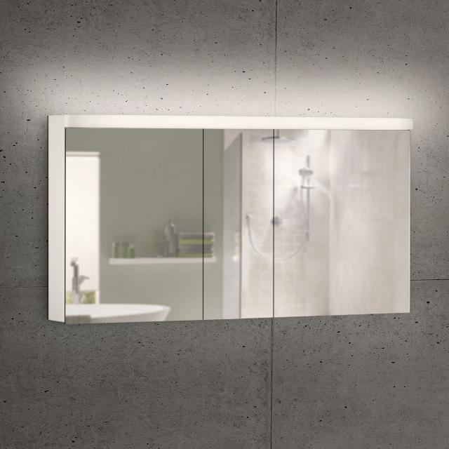 Schneider LOWLINE Basic Spiegelschrank mit 3 Türen warmweiß