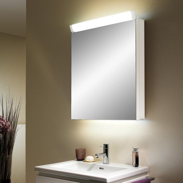 Schneider PALILINE Spiegelschrank, mit 1 Tür weiß