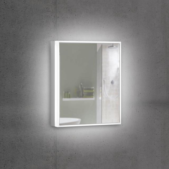 Schneider PREMIUMLINE Ultimate Spiegelschrank mit LED-Beleuchtung mit 1 Tür Anschlag rechts