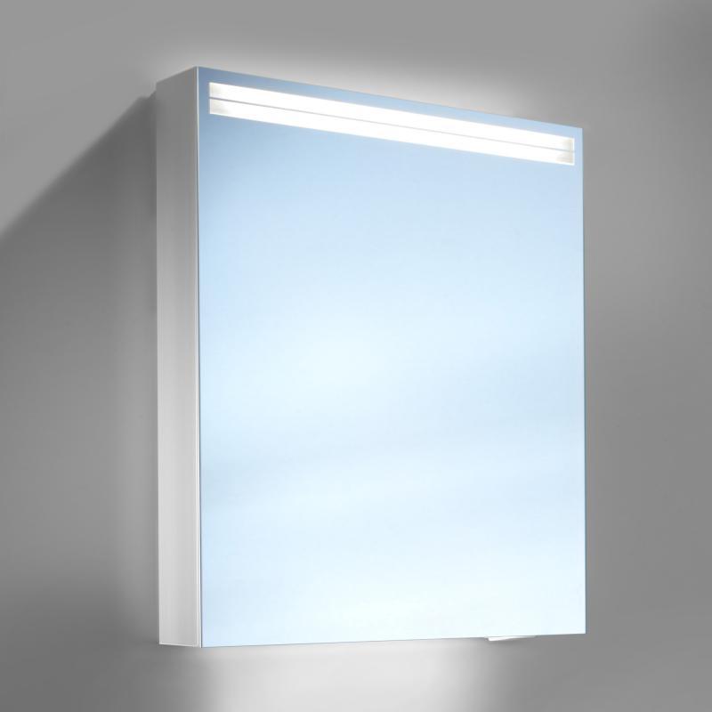 Schneider arangaline spiegelschrank b 60 h 70 t 12 cm mit 1 t r links reuter - Spiegelschrank 12 cm tief ...