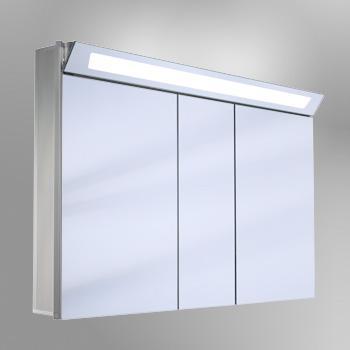 schneider capeline spiegelschrank b 130 h 80 t 15 cm 3 t ren reuter. Black Bedroom Furniture Sets. Home Design Ideas