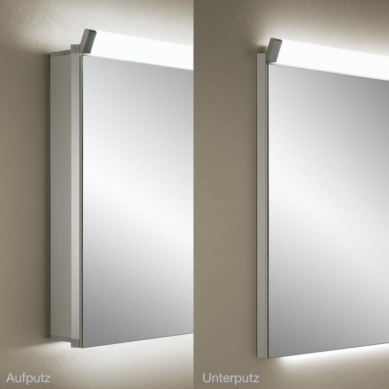 Schneider PALILINE Spiegelschrank mit 2 Türen, mit Beleuchtung ...