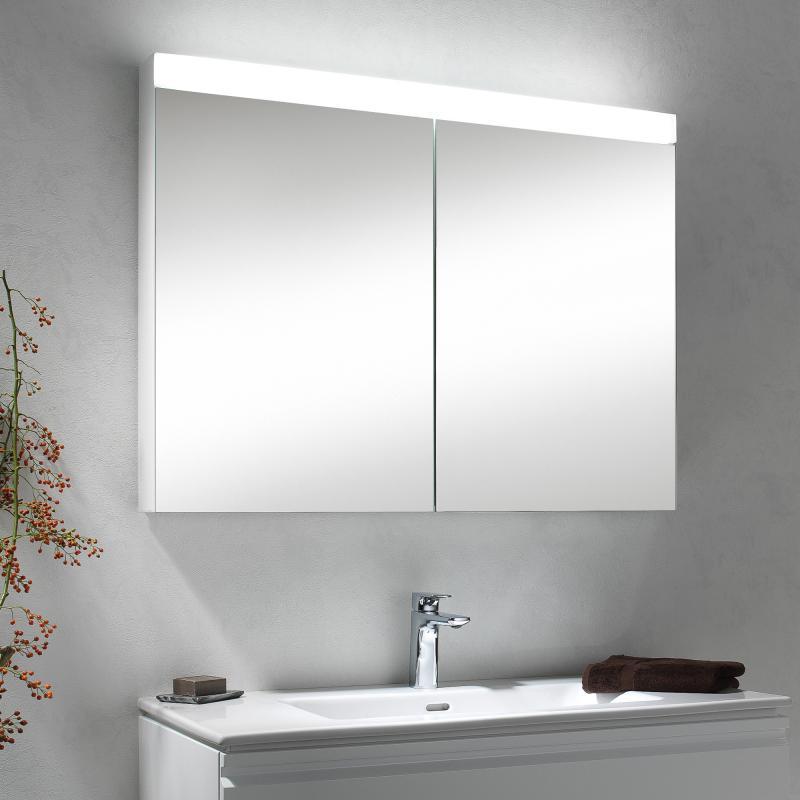 Spiegelschrank 100 Cm Weiß RN47 – Hitoiro