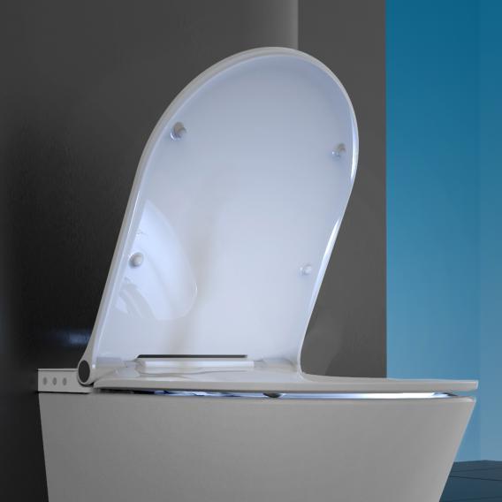 Schütte Cesari WC-Sitz mit Deckel für Dusch-WC