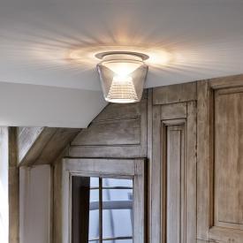 Serien Lighting Annex LED Deckenleuchte, Reflektor Kristall