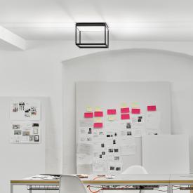 Serien Lighting Reflex² M LED Deckenleuchte mit Strukturglas