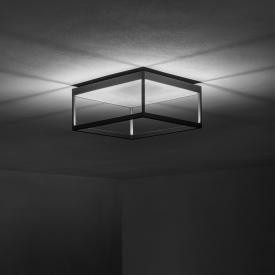 Serien Lighting Reflex² LED Deckenleuchte mit Dimmer und Strukturglas