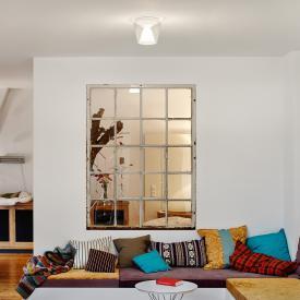 serien.lighting Annex LED Deckenleuchte, Reflektor klar/opal